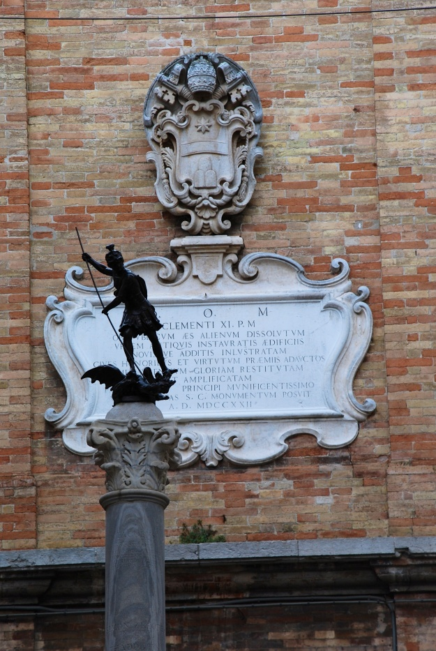 Urbino: Saint George and the Dragon