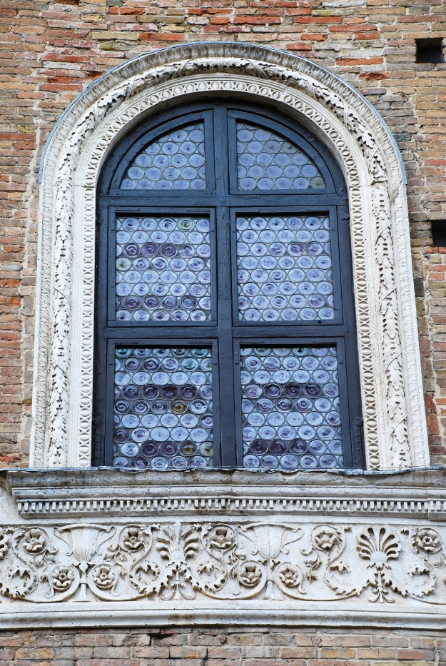 Urbino: Ducal Palace, external window