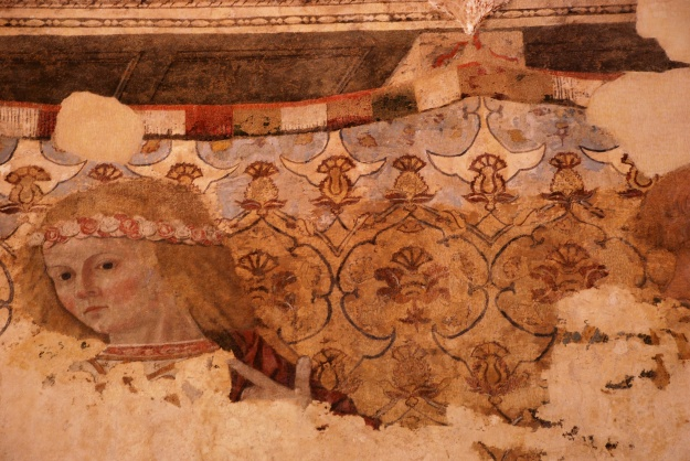 Urbino: Ducal Palace, fresco fragment