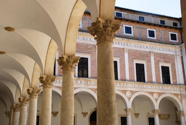 Urbino: Ducal Palace, courtyard
