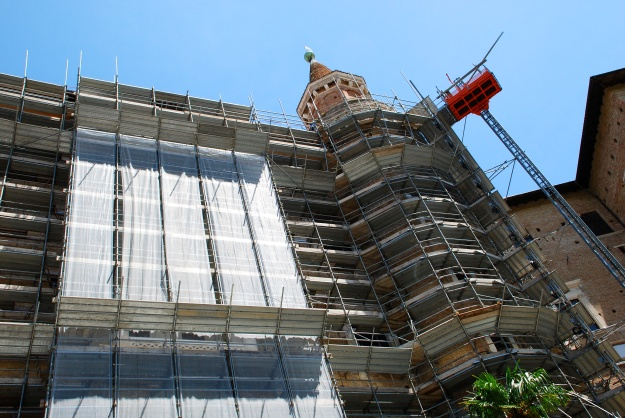 Urbino: Ducal Palace under wraps!