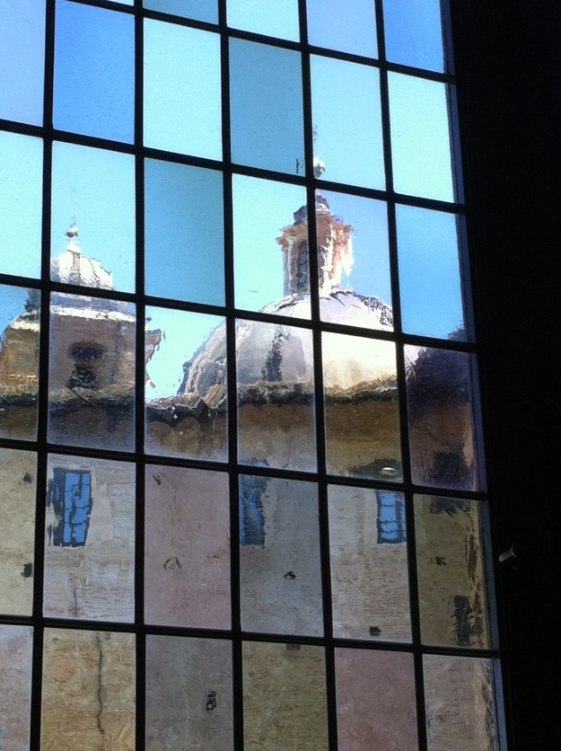 Urbino: Ducal Palace, internal window
